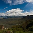 Narrowneck Panorama by Lorraine Creagh