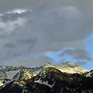Wasatch Mountains, October Panorama by Ryan Houston