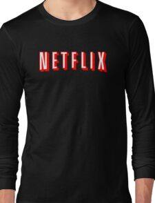 Netflix Black Long Sleeve T-Shirt