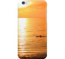 Lone Kayaker iPhone Case/Skin