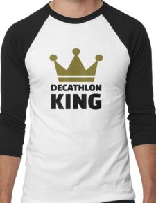 Decathlon King Men's Baseball ¾ T-Shirt