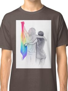 The Rainbow Flag: 'I would if I could… not yet, but soon.' Classic T-Shirt