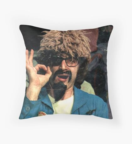 The Ghoul OK t-shirt Throw Pillow