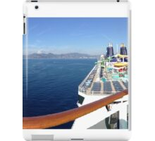Boat with a view! iPad Case/Skin