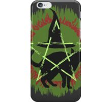 Halloween ugly sweater iPhone Case/Skin