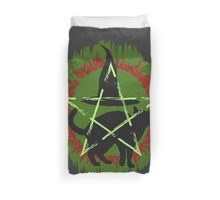 Halloween ugly sweater Duvet Cover