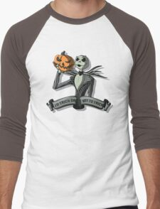 To Trick or Not To Trick Men's Baseball ¾ T-Shirt