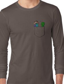 Little Pocket Creeper Long Sleeve T-Shirt