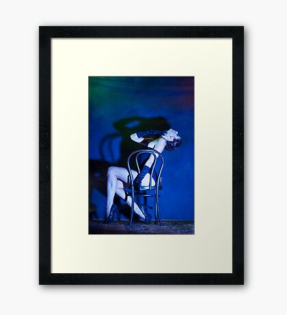A Tiger is a Tiger not a Lamb, Mein Herr Framed Print