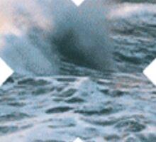 Beach Waves X. Sticker