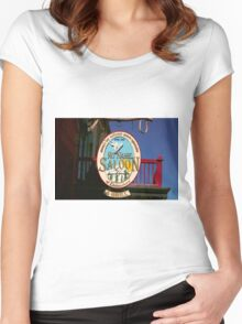 No Name Saloon Women's Fitted Scoop T-Shirt