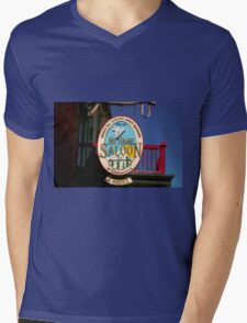 No Name Saloon Mens V-Neck T-Shirt