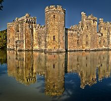 Bodiam Castle HDR by Geoff Carpenter