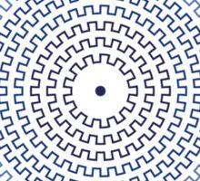 Grecian Maze Sticker
