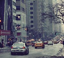 New York Street by Malte Herbst Photography