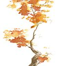 Little Zen Tree 393 by Sean Seal