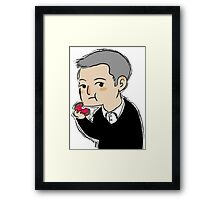Cutiepie Lestrade Framed Print