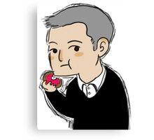 Cutiepie Lestrade Canvas Print