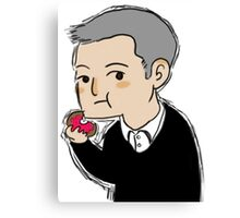 Cutiepie Lestrade Canvas Print