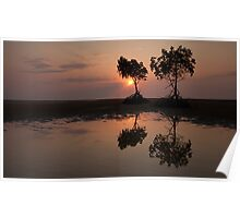 Yule Point Sunrise Poster