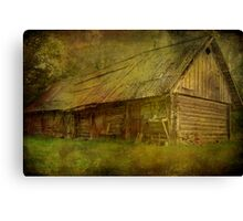 Keeping Things Old Canvas Print