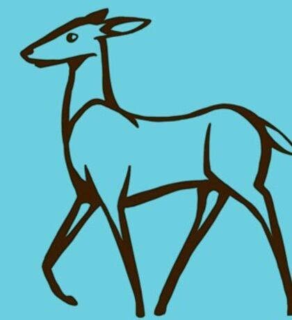 Doe, A Deer Sticker