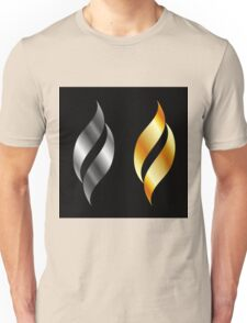 Metallic design elements Unisex T-Shirt