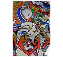 Trick or treat........mural Poster
