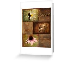 Mood and Light - Calendar Greeting Card