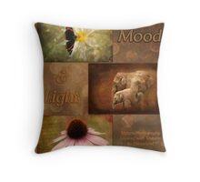 Mood and Light - Calendar Throw Pillow