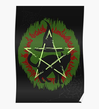 Halloween ugly sweater Poster