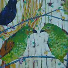 Australian Bird Paintings by Mellissa Read-Devine by Mellissa Read-Devine