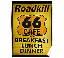 Roadkill Cafe Poster