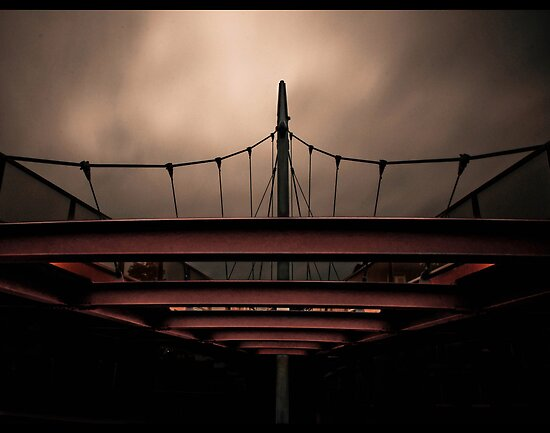 Moody Bridge by joelleherman