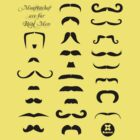 Moustaches are for real men by dadawan