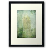 Trelissick Towers in Pastel Framed Print