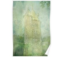 Trelissick Towers in Pastel Poster