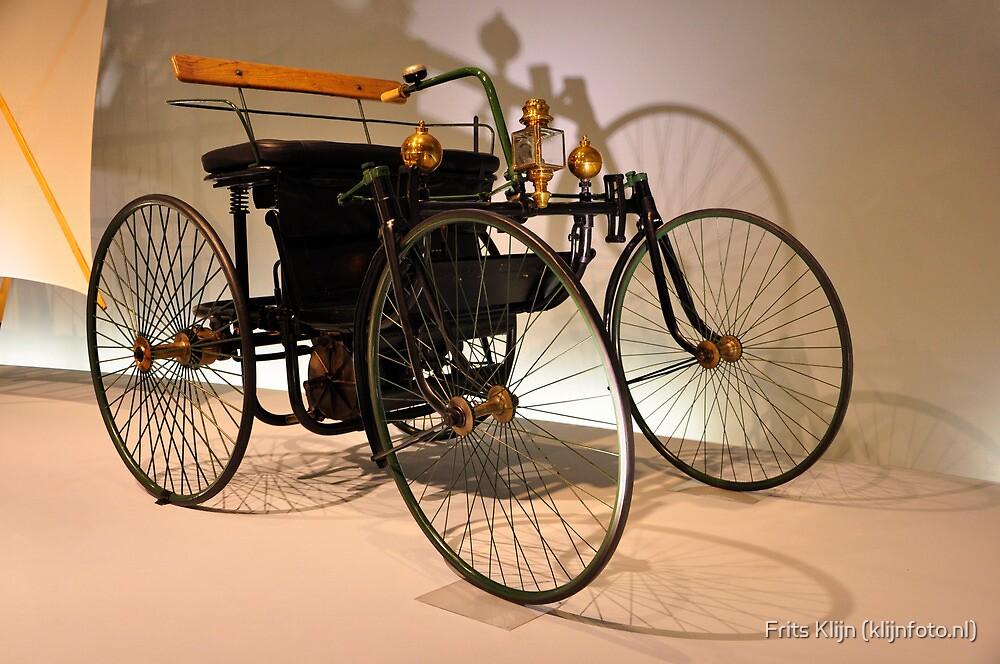 Daimler Motor-Quadricyle 'Stahlradwagen' (1889) by Frits Klijn (klijnfoto.nl)