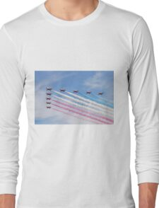 The Red Arrows at Airbourne Long Sleeve T-Shirt