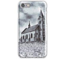 Church of St John of Nepomuk in Huntirov iPhone Case/Skin