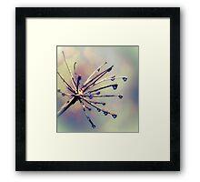 Glass Blisters Framed Print