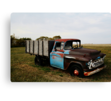 1430 Old Chevrolet Truck Canvas Print
