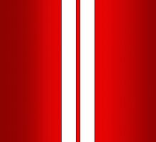 Red Car Stripes by Alisdair Binning