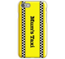 Mum's Taxi iPhone Case/Skin