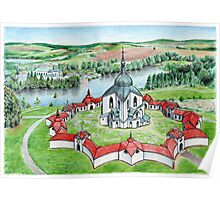 Pilgrimage Church of Saint John of Nepomuk Poster