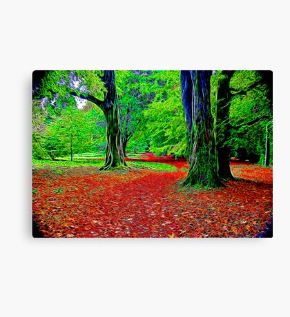 Fractalius Woods Canvas Print