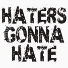 Haters gonna hate by DjenDesign