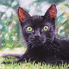 Otto As A Kitten by Mike Paget