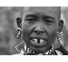 Maasai Female Elder Photographic Print