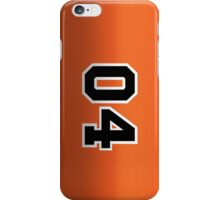 The General Lee iPhone Case/Skin